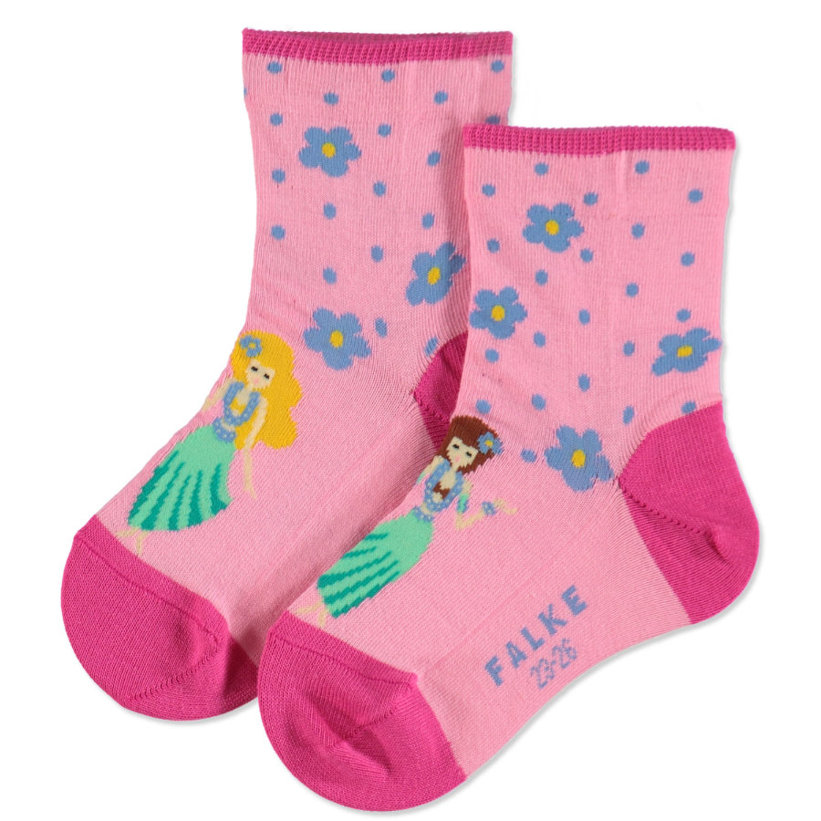 FALKE Girls Socken Hula Girl flamingo