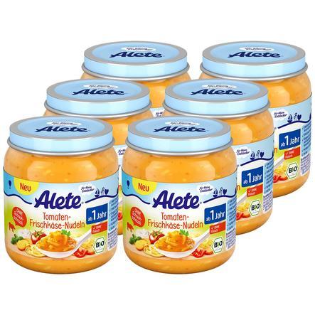 Alete Tomaten-Frischkäse-Nudeln 6 x 250 g