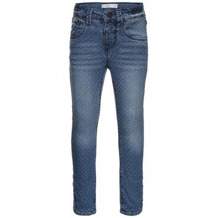 name it Girls Jeans Bamerta medium blue denim