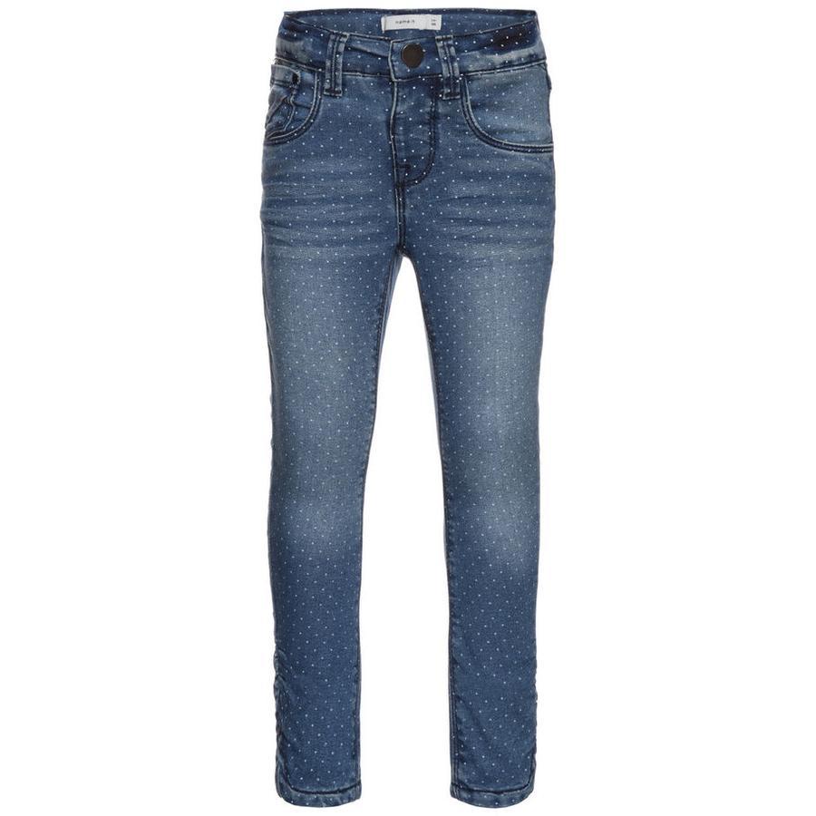 name it Girls Jeans Bamerta medium blå denim