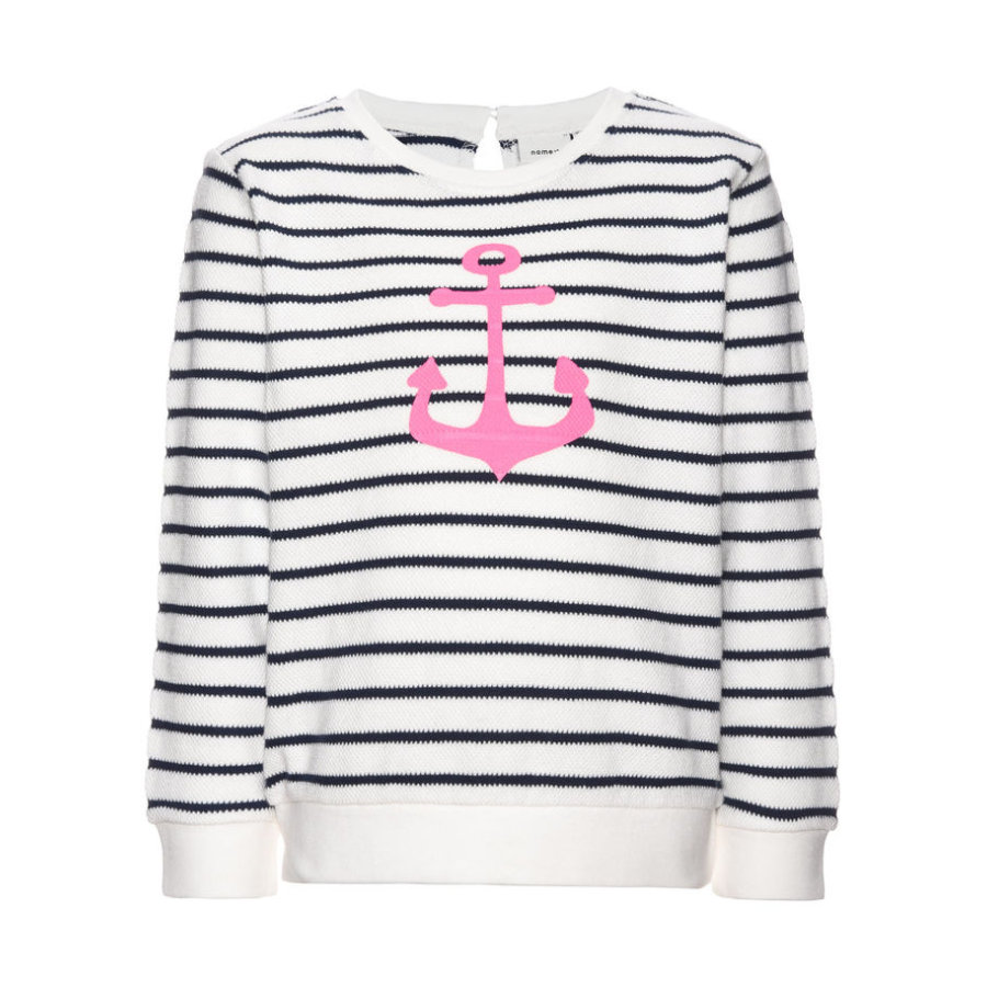 name it Girls Sweatshirt Fiona dress blues