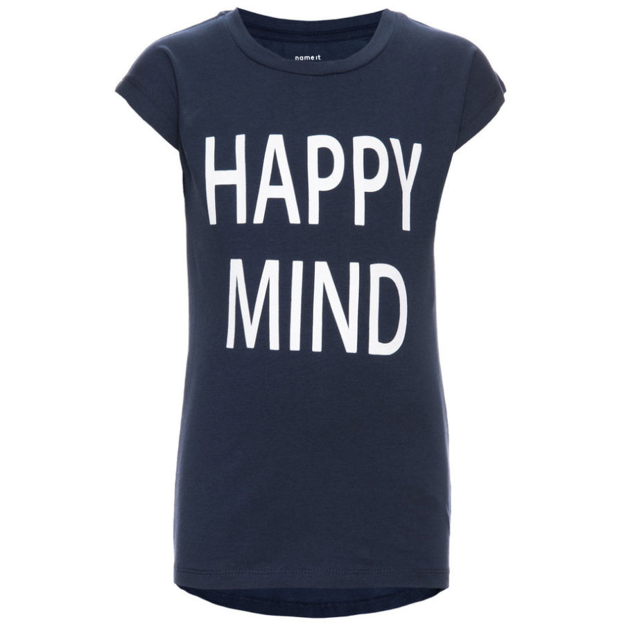 name it Girl s Vestido T-Shirt Flinka azul