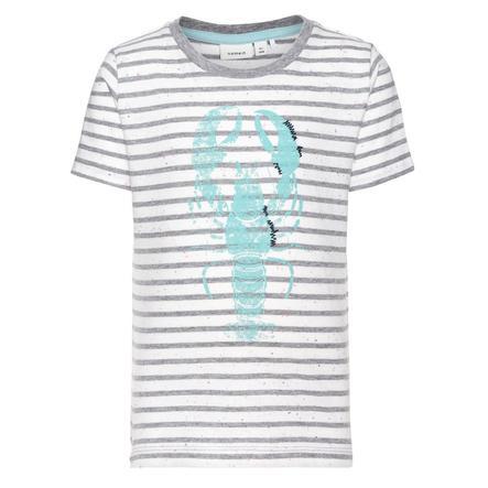 name it Boys T-Shirt Funder grijs melange