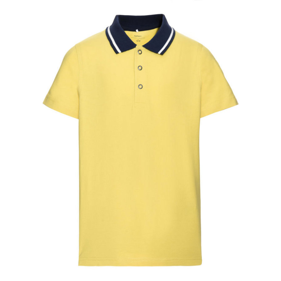 name it Boys Poloshirt Vartinfun acacia
