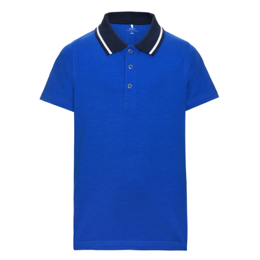 name it Boys Polo Vartinfun bleu marine