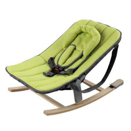 GEUTHER ROCCO Baby Bouncer - Solid Beech Green