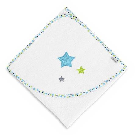 Sterntaler Håndklæde med hætte Erik hvid 80 x 80 cm