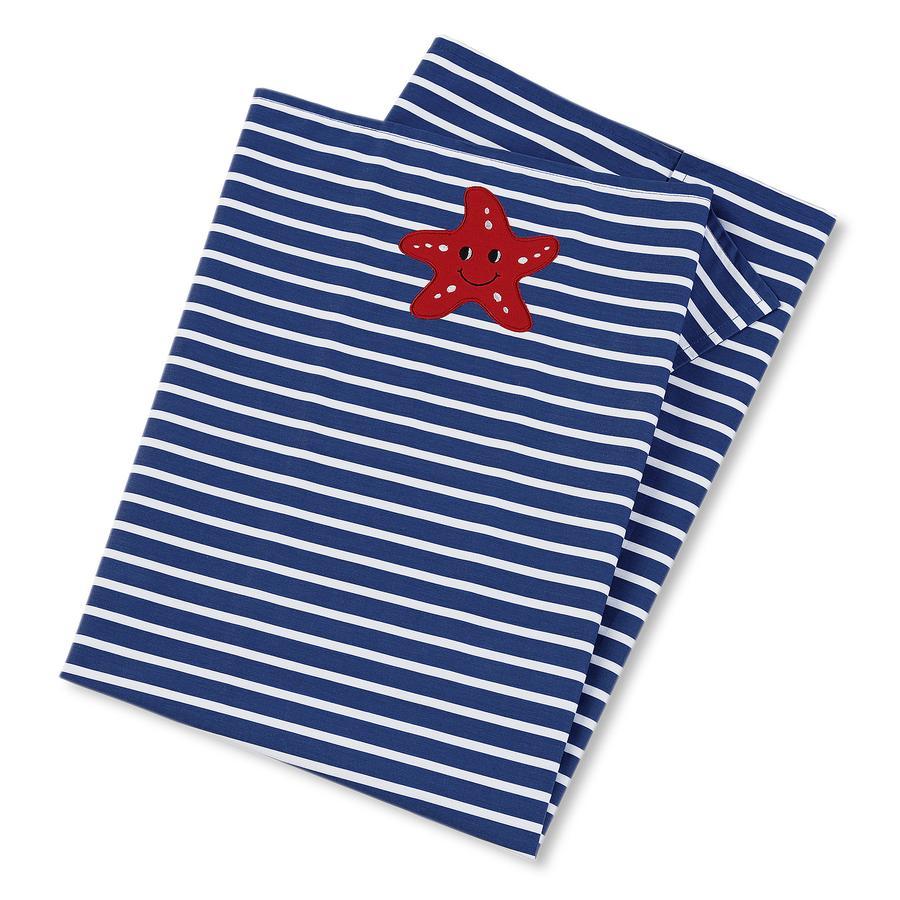 Sterntaler UV-tæppe Erwin jeans/hvid 70 x 100 cm