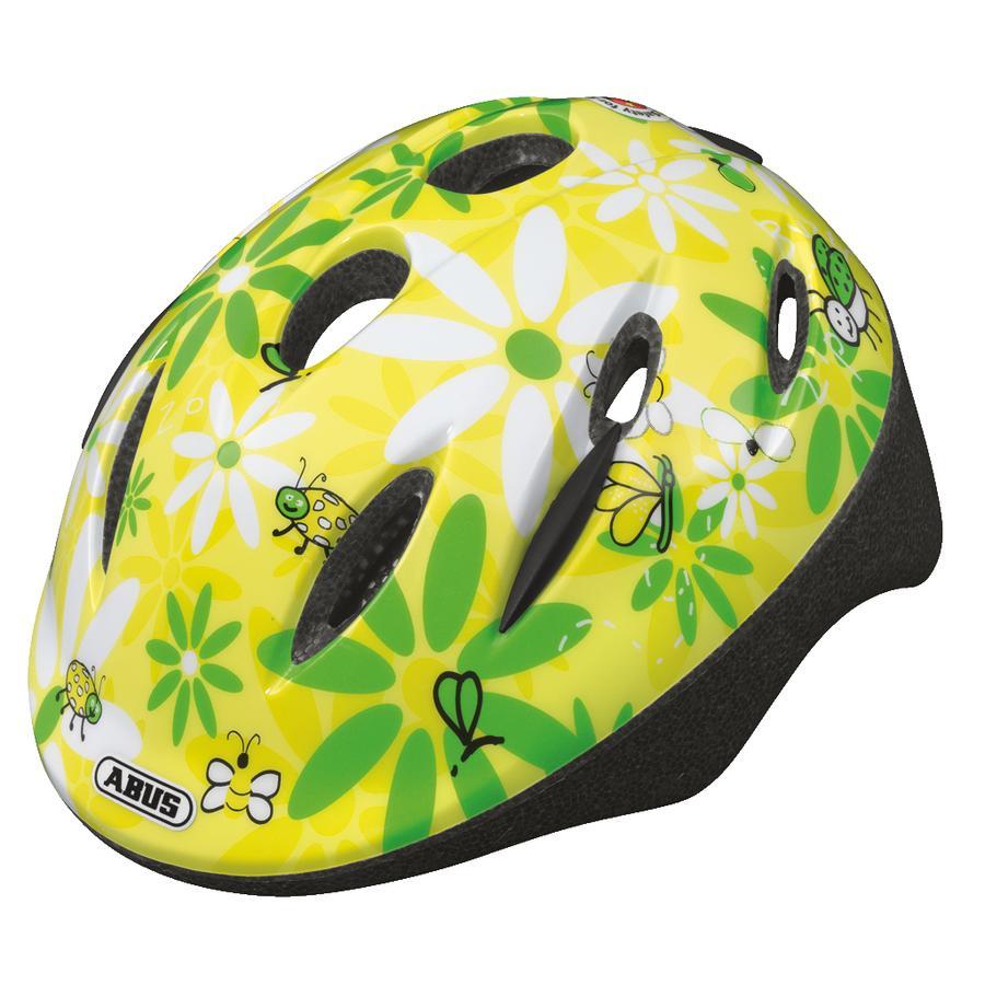 ABUS Bundle Smooty lasten pyöräilykypärä S + sadesuoja, beetle sun