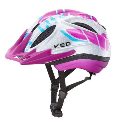 KED Casque de vélo enfant Meggy K-Star Violet T. M, 52-58 cm