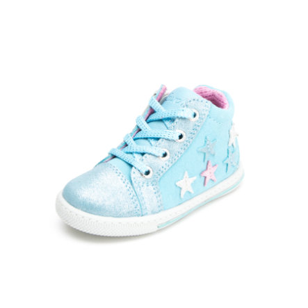 Lurchi Girls Lauflernschuh Bibi light blue