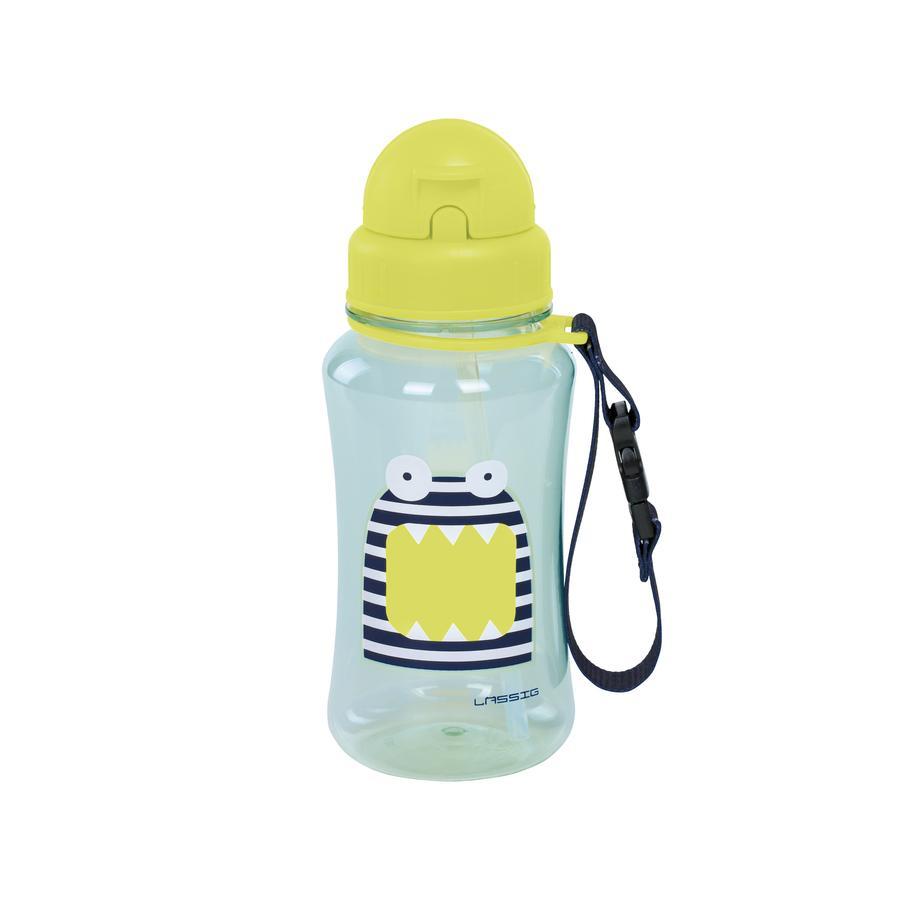 LÄSSIG Flaska Little Monsters Bounding Bob blue/green