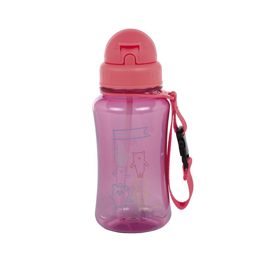 LÄSSIG Trinkflasche About Friends pink ab dem 18. Monat