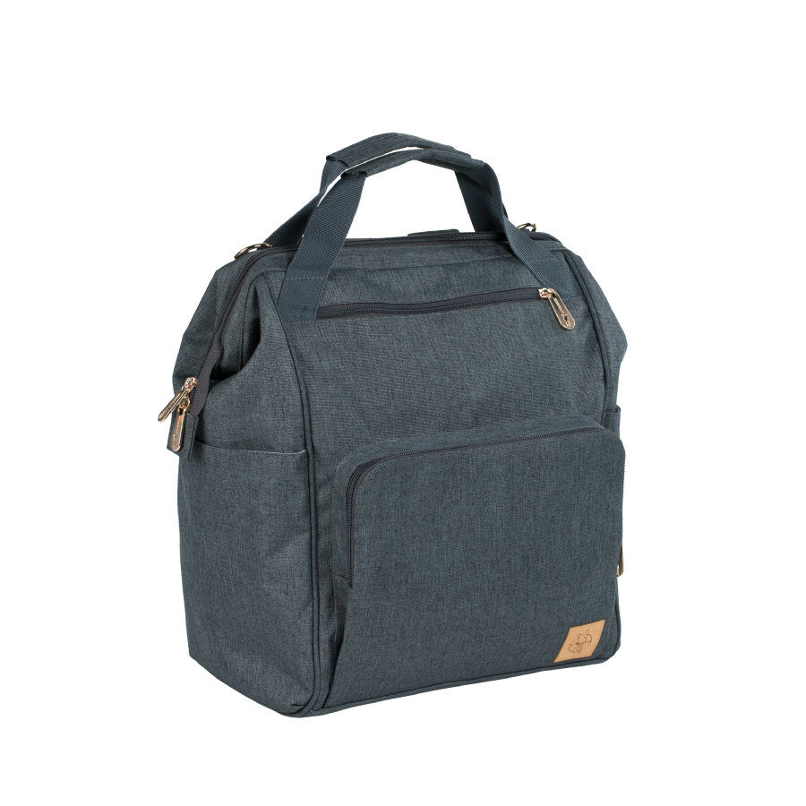 LÄSSIG Wickelrucksack Glam Goldie Backpack anthracite
