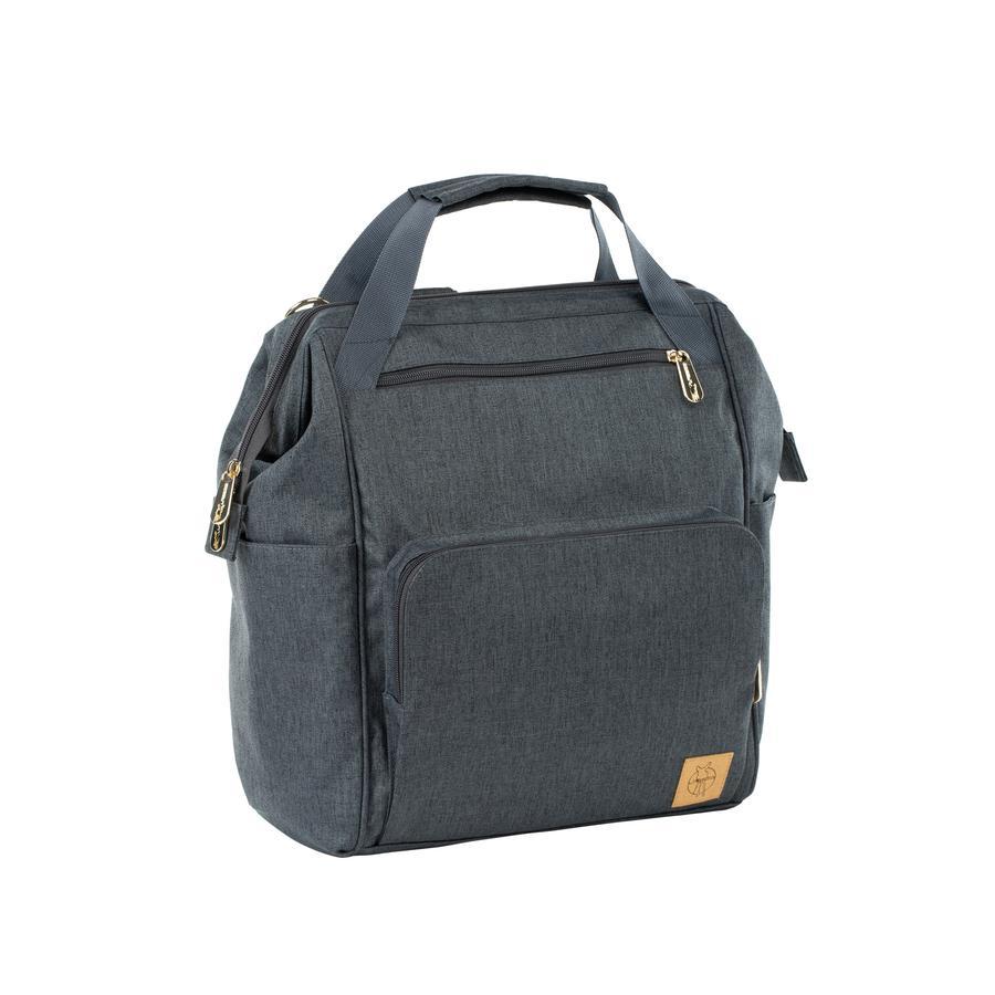 LÄSSIG Wickeltasche Glam Goldie Backpack anthracite