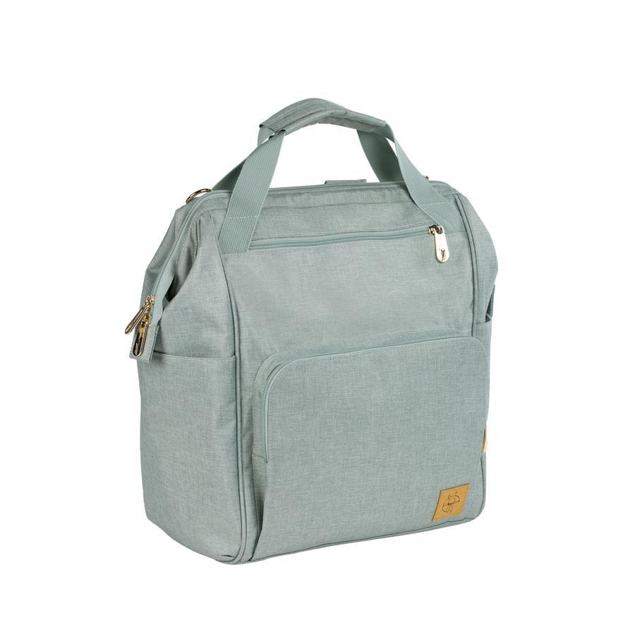 LÄSSIG Luiertas Glam Goldie Backpack mint
