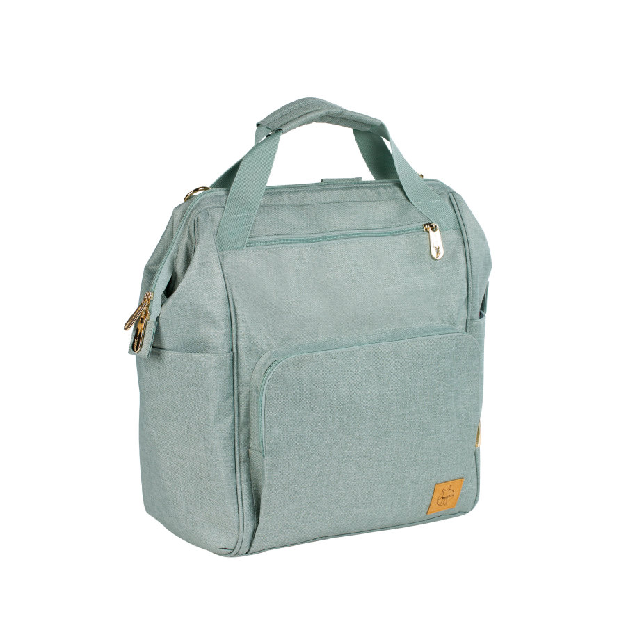 LÄSSIG Torba na akcesoria do przewijania Glam Goldie Backpack mint