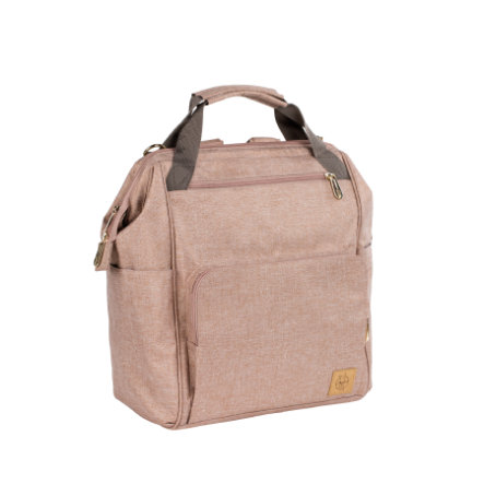 LÄSSIG Wickeltasche Glam Goldie Backpack pink