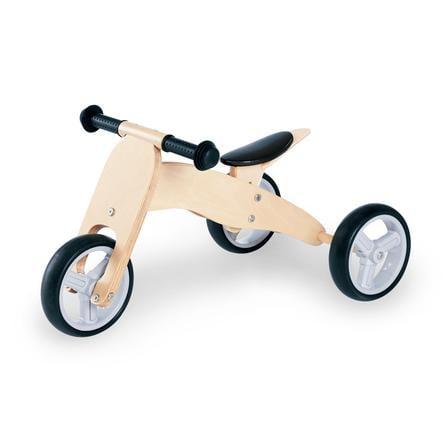 pinolino mini draisienne 3 roues charlie naturel. Black Bedroom Furniture Sets. Home Design Ideas