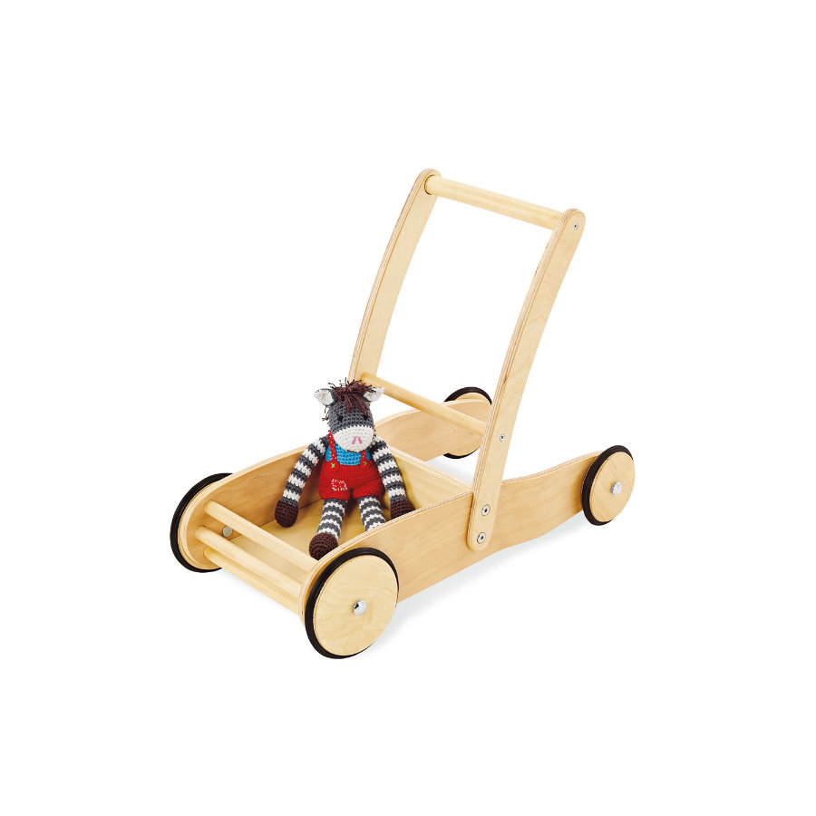 Pinolino Chariot de marche enfant Uli, bois naturel