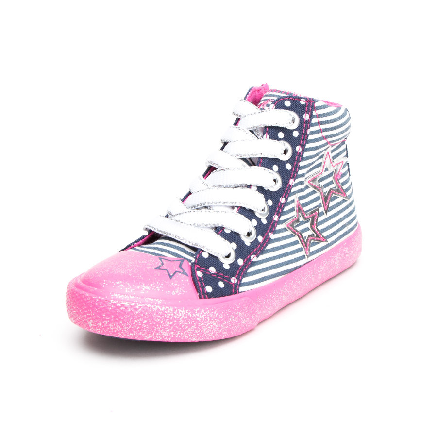s.Oliver shoes Girls Stiefel navy/pink