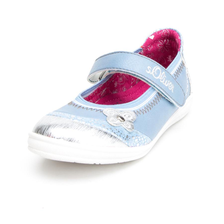 s.Oliver scarpe Girl s sandalo s sandalo farfalla azzurro chiaro
