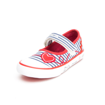 s.Oliver shoes Girls Sandale Herz weiß/blau/rot