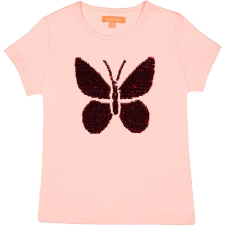 STACCATO Girls T-Shirt powder Butterfly