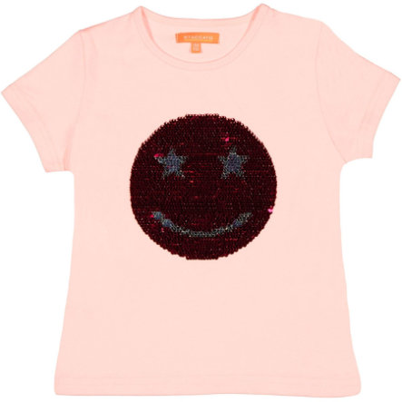 STACCATO Girl T-Shirt s-poeder Smiley