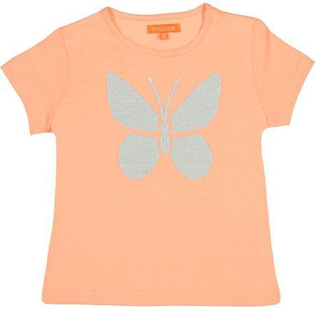 STACCATO Girl s T-Shirt mandarijn vlinder