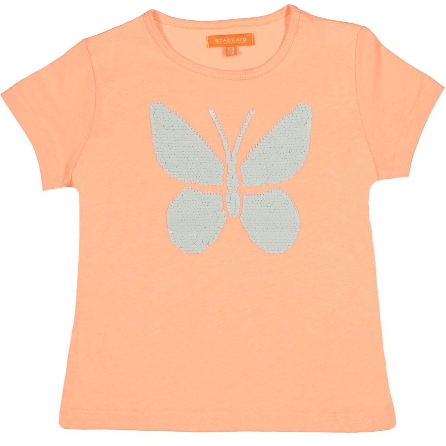 STACCATO Girls T-Shirt madarin Butterfly