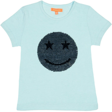STACCATO Girls T-Shirt frostblue Smiley