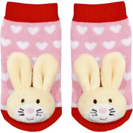 COPPENRATH Chaussettes à hochet lapins taille Baby unique porte-bonheur
