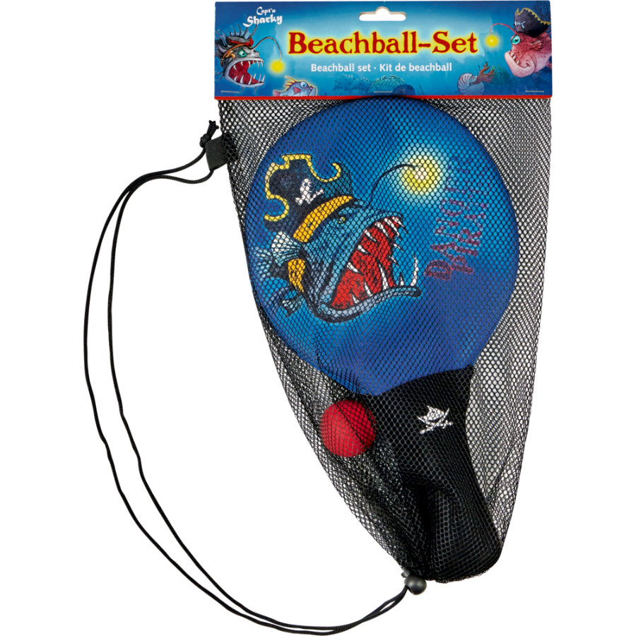 COPPENRATH Beachball-setti, Capt'n Sharky, syvämeri