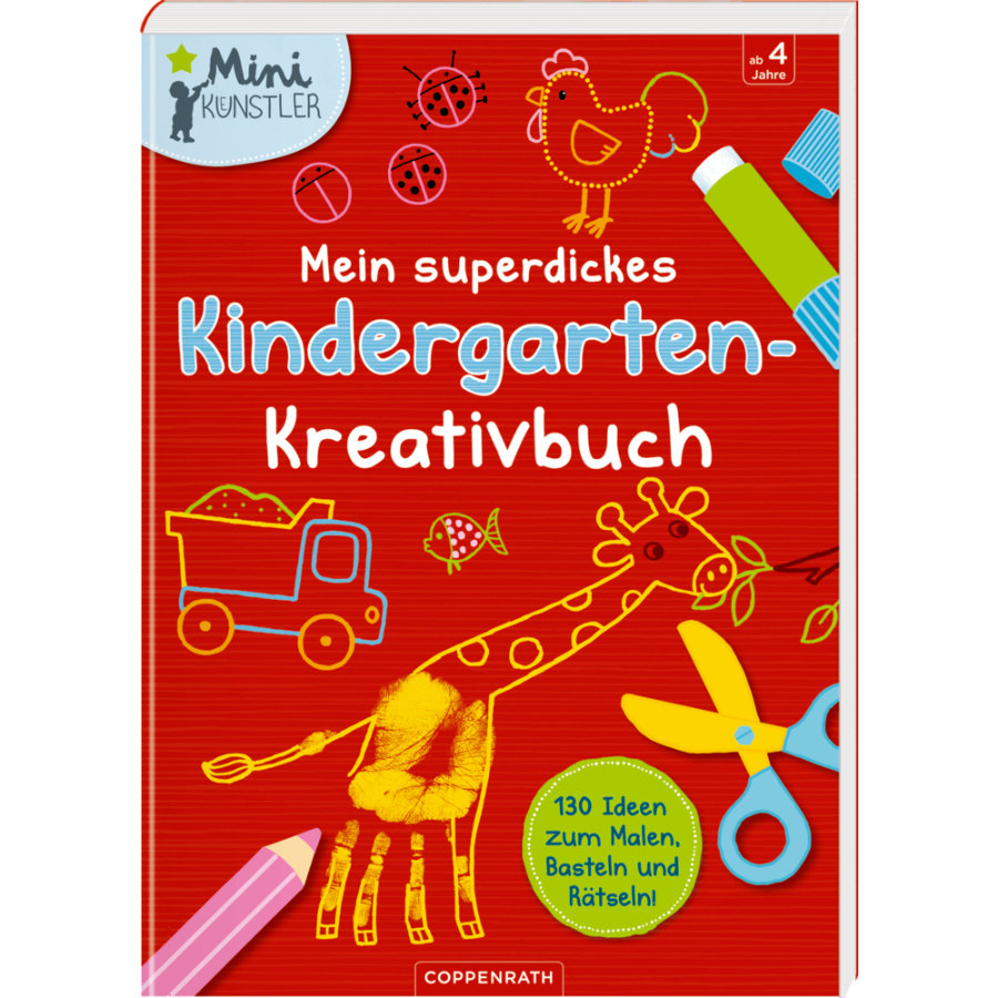 COPPENRATH Mini-Künstler: Mein superdickes Kindergarten-Kreativbuch