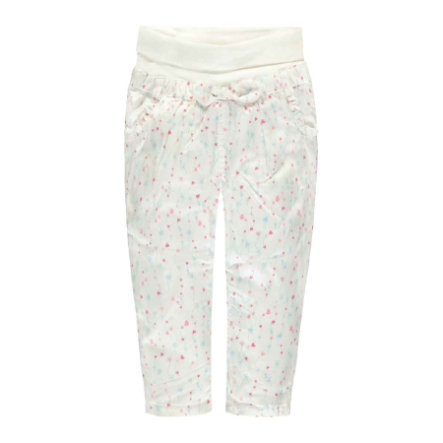Steiff Girls Hose bright Herzchen white
