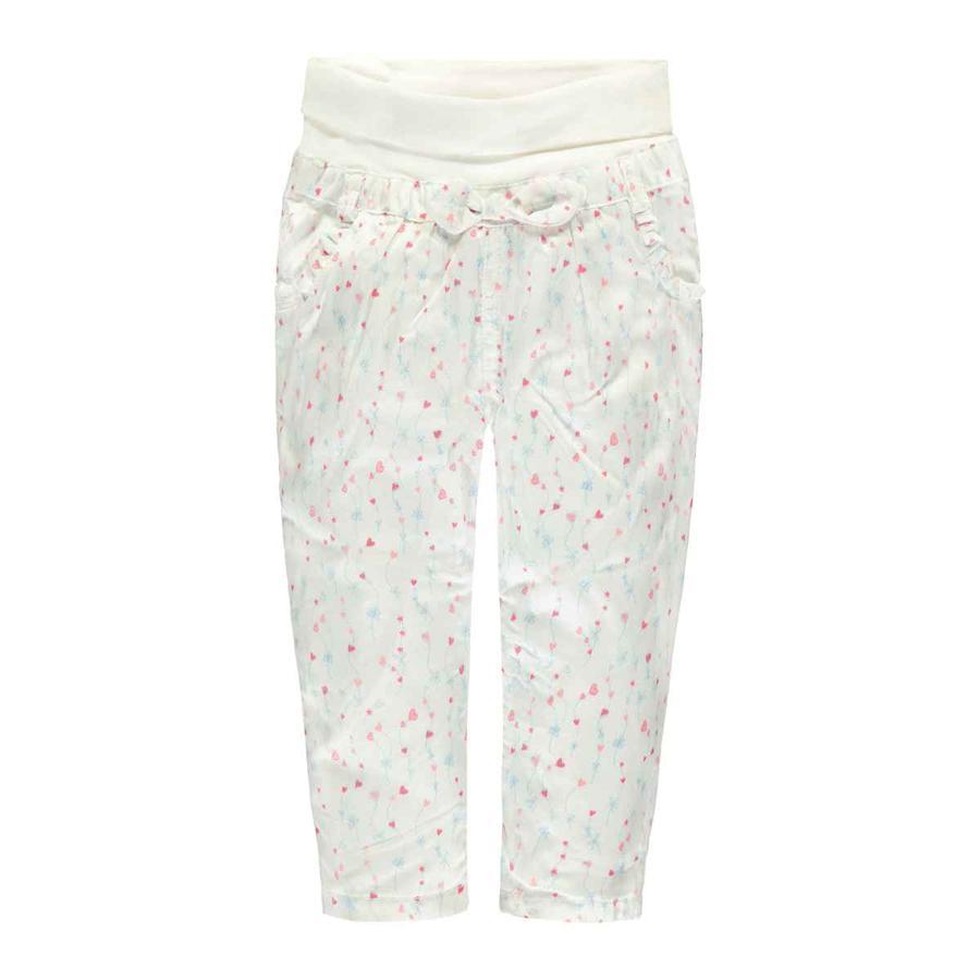 Steiff Girl s Pantalones blanco corazón brillante