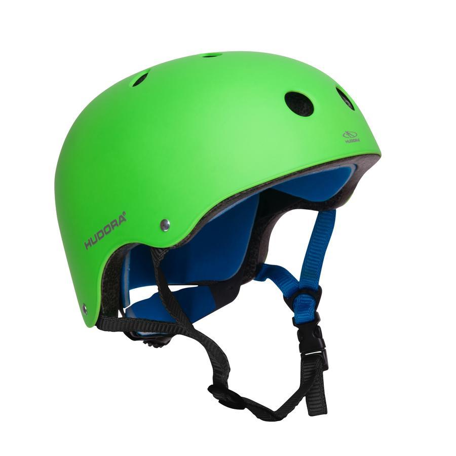 HUDORA® Casque enfant skateboard T. 56 - 60, vert