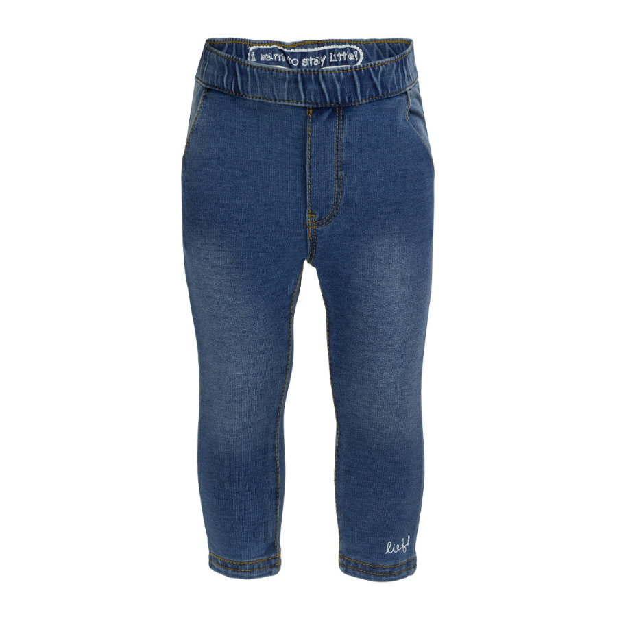 lief! Girls Jeggings blue denim