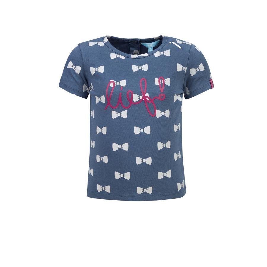 ran ! Girl s T-Shirt navy