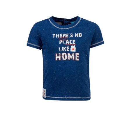 couru ! bleu Boys T-Shirt foncé