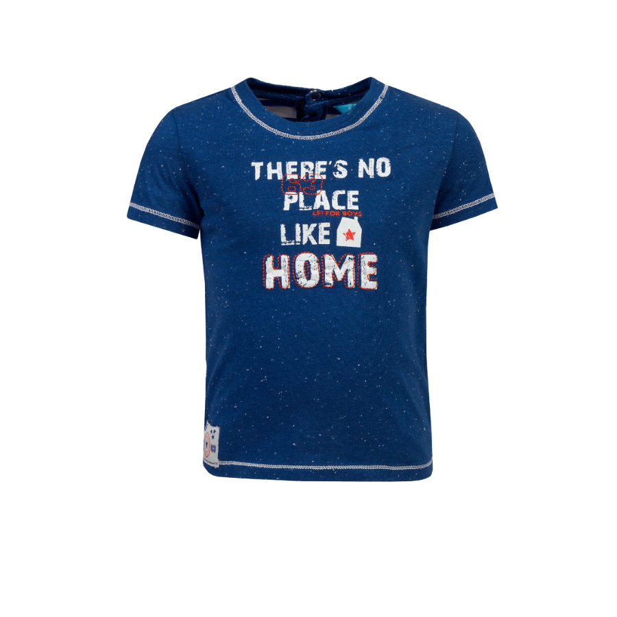 uciekł! Boys T-Shirt Ciemno-błękitny!