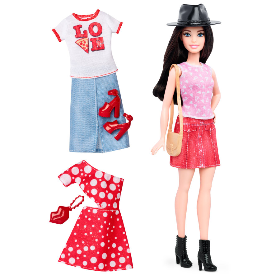 Barbie Fashionistas - Barbie pizza style