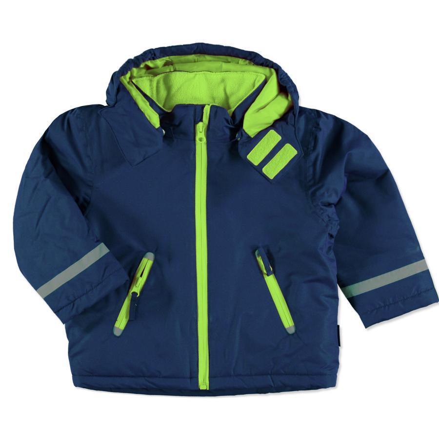 Playshoes Snow-Jacket uni-niebieski.
