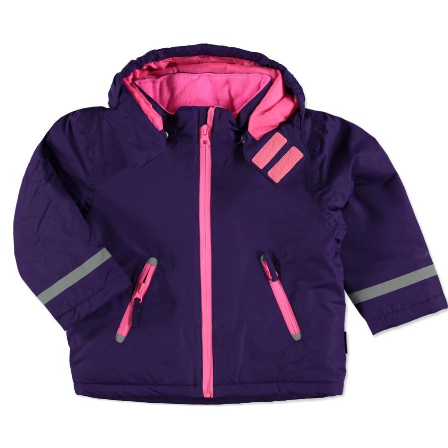 Playshoes Snow Jacket uni purpurowy.