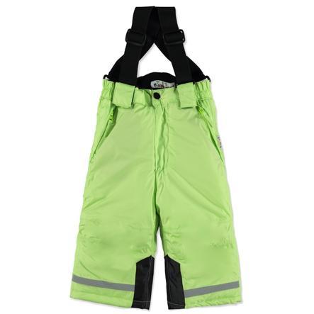 Playshoes Śnieżnobiałe Spodnie zielone