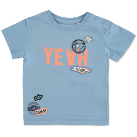 STACCATO Boys T-Shirt light blue Patches