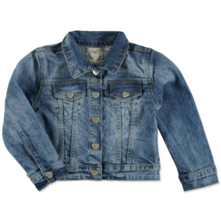 STACCATO Girls Jeansjacke mid blue denim