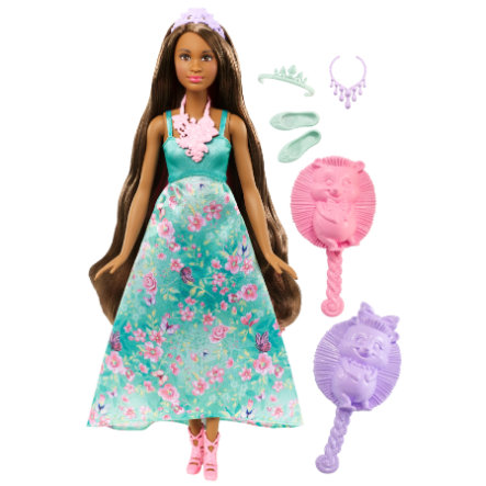Barbie Princesse chevelure magique brune