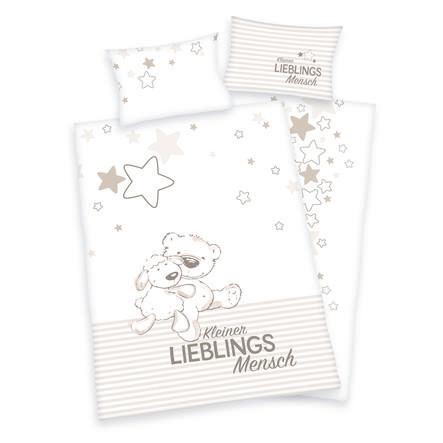 babybest® Bettwäsche Kleiner Lieblingsmensch 100 x 135 cm
